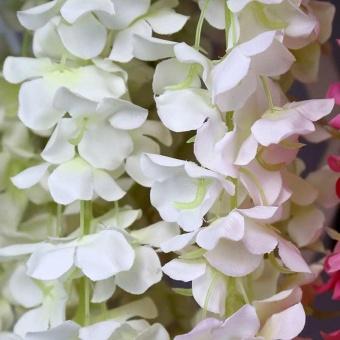 10 Pcs Rattan Strip Wisteria Artificial Flower Vine For Wedding Party - intl - 3