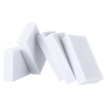 100 50 30 10pcs Magic Sponge Cleaner Eraser Melamine Cleaner100X62X20mm Grey Intl