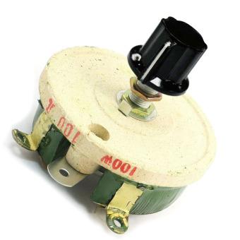100W 100 Ohm Ceramic Wirewound Potentiometer Rotary Resistor Rheostat - Intl - 2