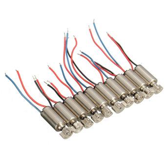 10Pcs 4x8mm DC1.5-3V Micro Coreless Vibrating Vibrator Vibration Motor For SANYO - 2