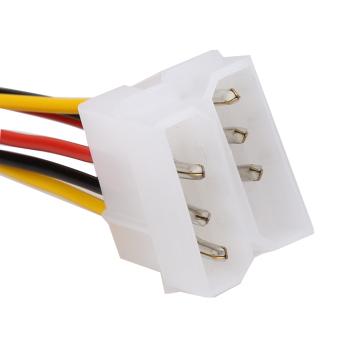 10PCS Molex (4 Pin) to PCI-E (6 Pin) Power Converter Adapter Connector - 3