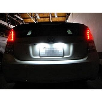 10x LED Replacements for Malibu Landscape Light 5 Led / smd PerBulb 194 T10 T5 Wedge Base Cool White 12v Dc 1407ww - 2
