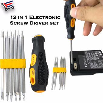12 in 1 New Electronic High Quality Screw Driver Set