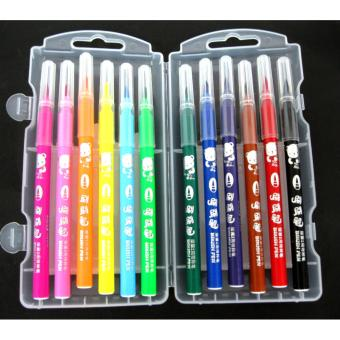 12 pcs Brush Color Pen