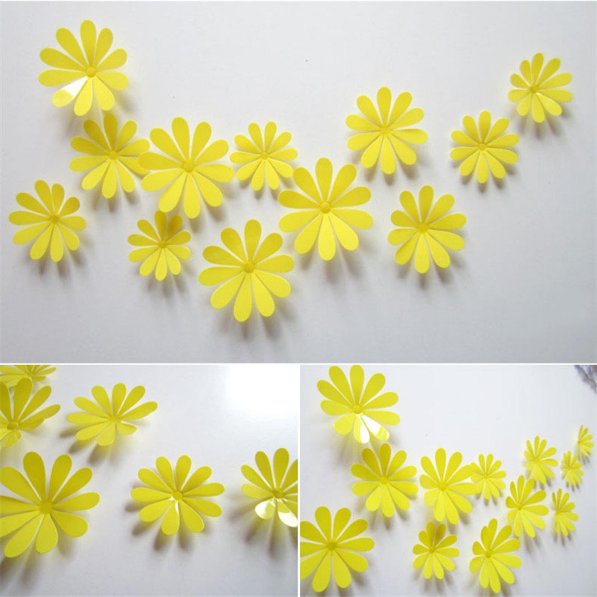 Colorful 3d Flower Wall Decor Diy Model - Art & Wall Decor ...