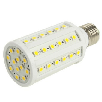 12W Warm White 60 LED Corn Light Bulb, Base Type: E27
