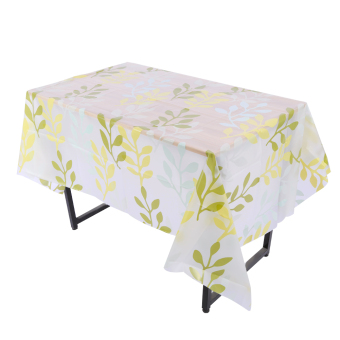 130x180cm PVC Waterproof Oil Proof Tablecloth 8# - intl
