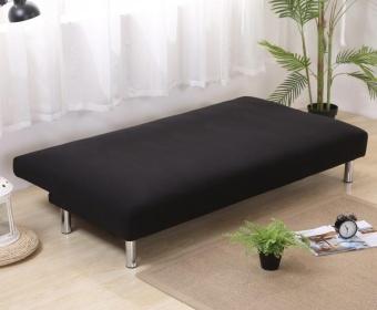 135-185cm Soild Color Elastic Foldable Sofa bed Cover No Handrail Sofa Slipcovers - intl - 4