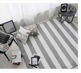 150X200CM Modern Striped Carpets For Living Room Home Bedroom RugsAnd Carpets Coffee Table Brief Area Rug Children Play Mat,59X79in -intl - 4