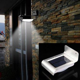 16 LED Solar Power Motion Sensor Garden Security Lamp Outdoor Light   Intl