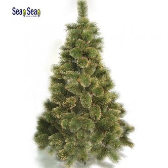 180 cm Green Artificial Christmas Tree with Gold Tips
