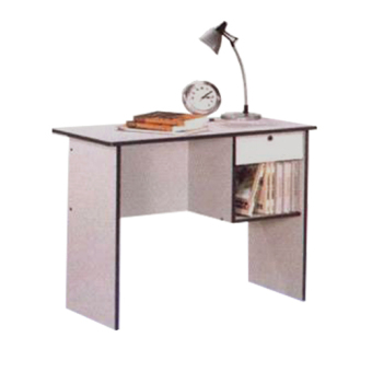 #1836 Typing Table (Wenge/Grey) - 2