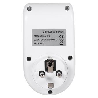 1Pc 220V Multi-functional LCD Digital Timer Socket Timing OutletSwitch EU Plug New - intl - 5