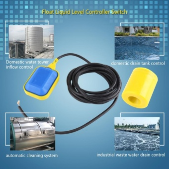 1pc Cable Type Float Switch Liquid Fluid Water Level ControllerSensor (1.9M Cable) - intl - 3