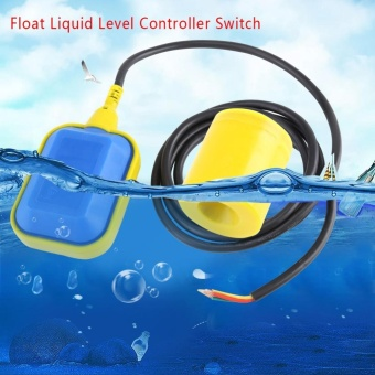 1pc Cable Type Float Switch Liquid Fluid Water Level ControllerSensor (1.9M Cable) - intl - 2