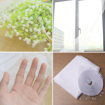 1Pc New Large Window Screen Net Insect Anti Mosquito Bug Door Netting