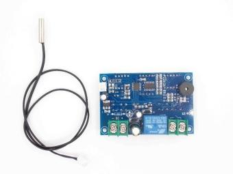 1pcs DC12V thermostat Intelligent digital thermostat temperature controller With NTC sensor W1401 led display - intl - 3