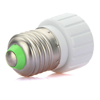 1Pcs E27 to GU10 Adapter Light Lamp Bulb Socket Adapter Converter White NEW - picture 2