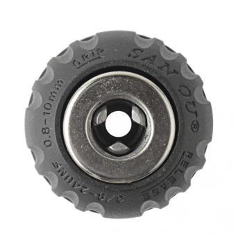 1pcs Keyless Drill Chuck Air/Electric/Cordless 1/32 - 3/8 in 24 UNF0.8 - 10 mm Quick - intl - 2