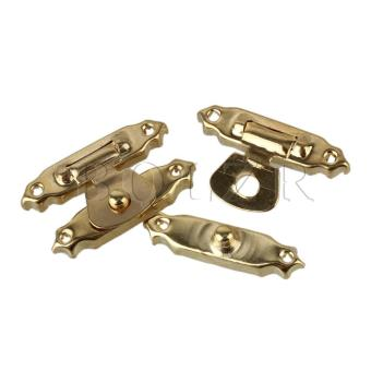 2.7x1.6cm Jewelry Chest Box Toggle Hasp Latch Set of 20 Golden - picture 2