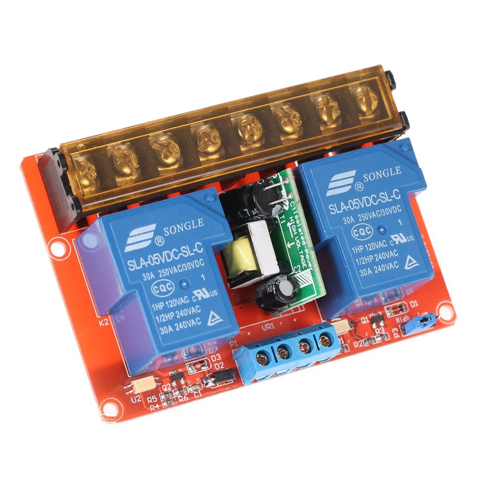 Philippines 2 Channel 250vac 30a Solid State Relay Module Board 240v Ac High Low Leveltrigger Intl