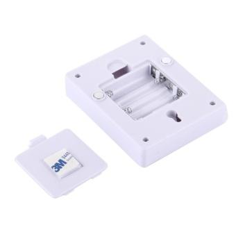 2 PCS Mini White Light COB LED Switch Wall Light Night Light LampCloset Light - intl - 5