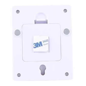2 PCS Mini White Light COB LED Switch Wall Light Night Light LampCloset Light - intl - 4