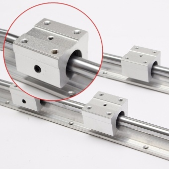 2 X SBR12-700mm 12MM Linear Bearing Rail Slide Guide Shaft + 4Pcs SBR12UU Blocks - intl - 2