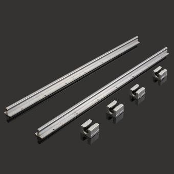 2 X SBR12-700mm 12MM Linear Bearing Rail Slide Guide Shaft + 4Pcs SBR12UU Blocks - intl - 3