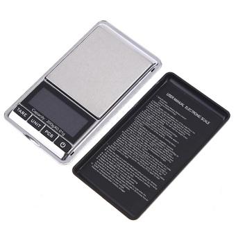 200g x 0.01g Mini LCD Digital Scale Portable Electronic PocketScales Diamond Balance Jewelry Weighing Tools - intl - 3