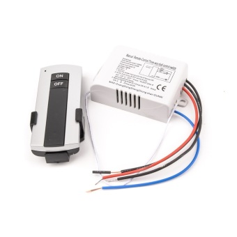220V 1 Way ON/OFF Wireless Digital Remote Control Switch for Lamp & Light YB004-SZ+