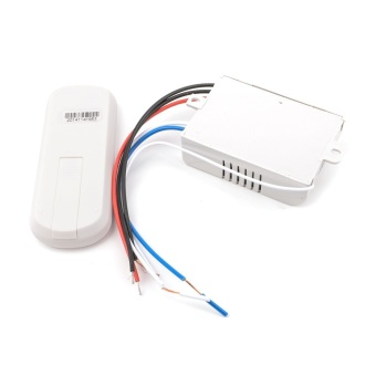 220V 3 Ways ON/OFF Wireless Digital Remote Control Switch for Lamp & Light YB005-SZ+ - picture 2