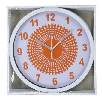 2A Wall Clock 1421 (Orange/White) - picture 2