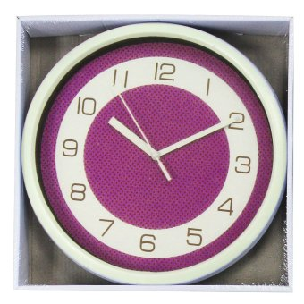 2A Wall Clock AP4034 (Violet) - picture 2