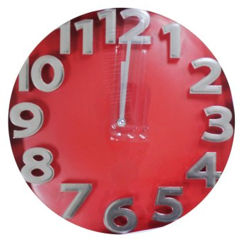 2A Wall Clock AP5095 (Red)