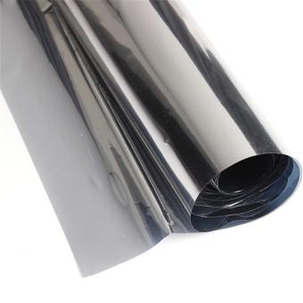 2M Silver Solar Reflective Window Film Paper Insulation Stickers One Way Mirror - 2