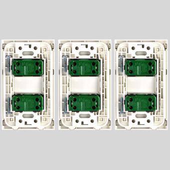 2pcs 1-Way Stainless Illum. Switch-SP2-S14-PK-3set - 3