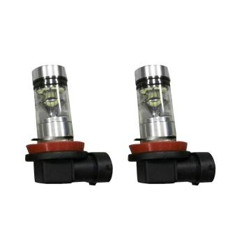 2X H8 H11 6500K 100W 20LED HID White 2323 Fog Driving DRL LightBulbs - intl - 3
