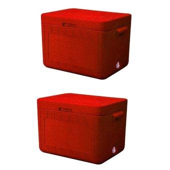 3 Caser Cooler (Red) Bundle of 2