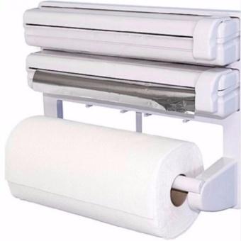3 In 1 Kitchen Triple Paper Dispenser Amp Holder Paper Foil