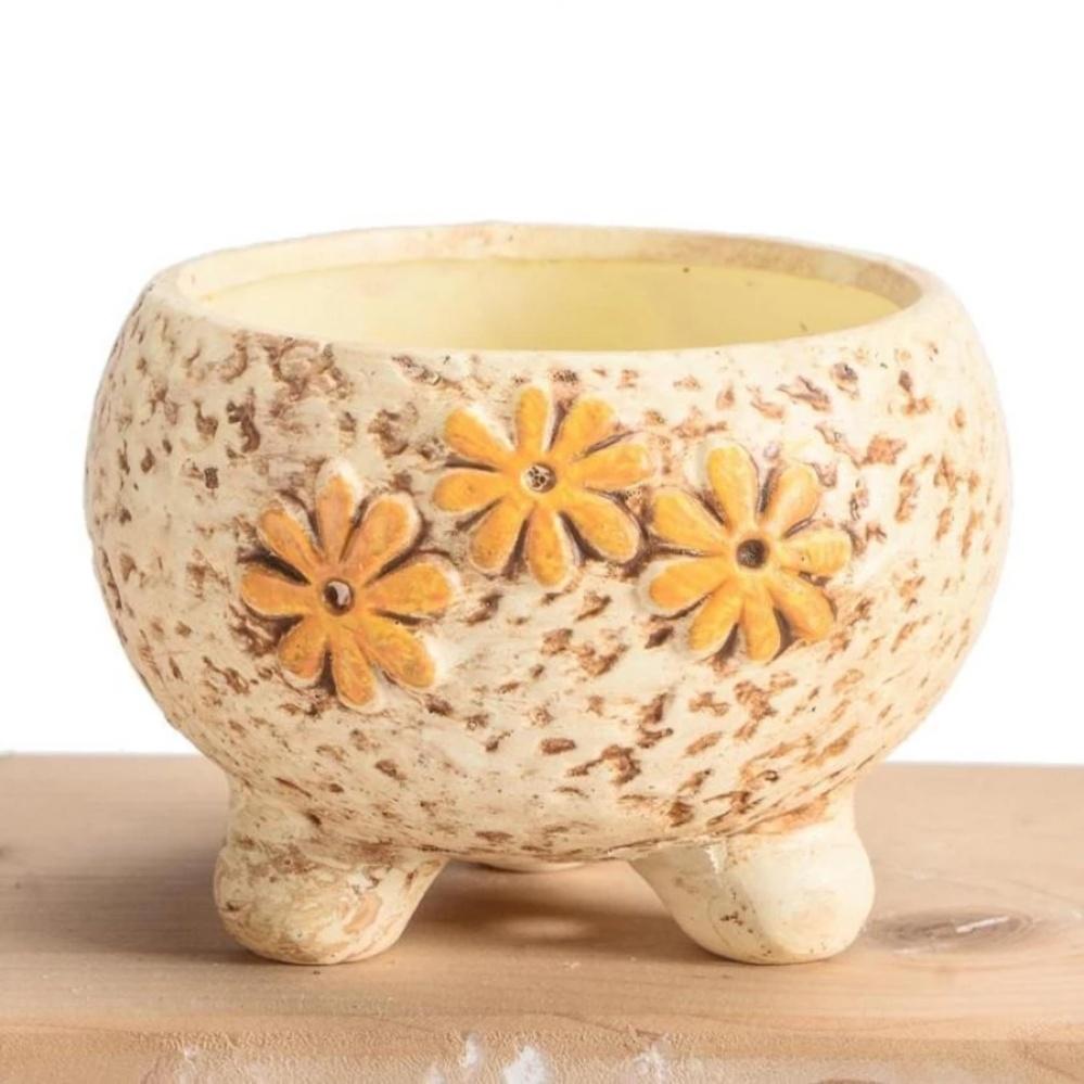 Philippines 3 Pcs Ceramic Flower Pot Succulents Pot Creative