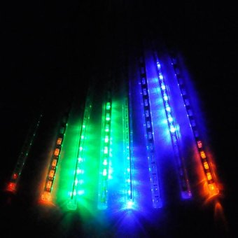 30 cm Multi Color Meteor Shower Rain Light Tubes Christmas Lights