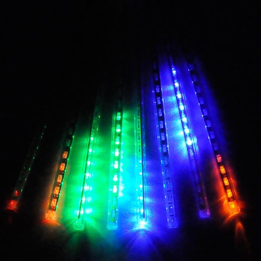 30 cm multi color meteor shower rain light tubes christmas lights lazada ph - Meteor Christmas Lights