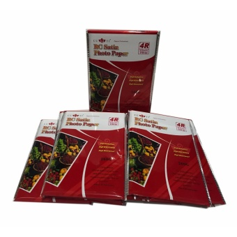 30 Packs of Cuyi RC Satin Photo Paper 4R 260G