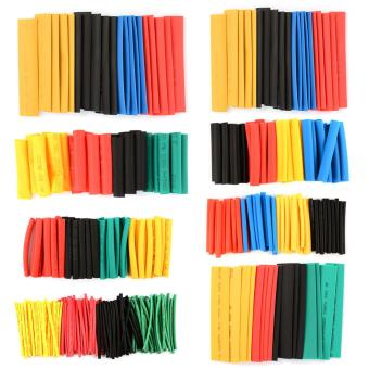 328pcs Polyolefin Heat Shrink Tubing Tube Sleeve Wrap WireAssortment CX034 - intl