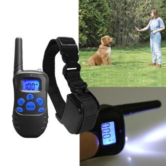 330 yd Remote Training Dog Collar Rechargeable Rainproof - intl - 2