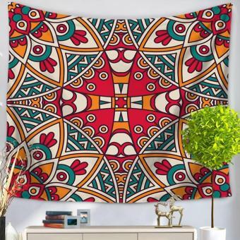360DSC Mandala Pattern Tapestries Multipurpose Household Blanketfor Beach Towel Bed Sheets Tablecloth Picnic Mat - GT1028-7 - intl