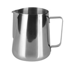 360DSC Stainless Steel Coffee Cappuccino Milk Tea Frothing Jug Garland Cup Latte Jug 600ML Silver intl