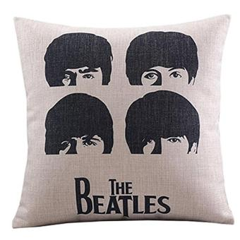 360DSC The Beatles Head Printing Cotton Linen Square ShapedDecorative Pillow Cover Pillowcase Pillowslip