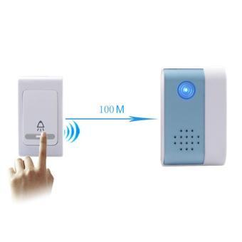 38 Tune Melody Digital Receiver Doorbell 1 Remote Control 2 Wireless Door Bell - intl - 2